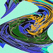 Dancing Goose Poster