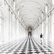 Dancing In The Galleria Grande Poster
