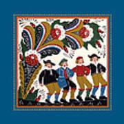 Dancing Men I Poster
