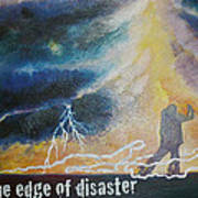 Dancing On The Edge Of Disaster Poster