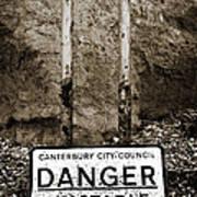Danger Poster by Mark Rogan