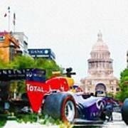 Daniel Ricciardo Of Australia Poster