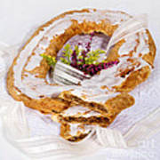 Danish Pastry Ring With Pecan Filling Poster