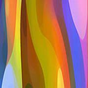 Dappled Light Panoramic Vertical 1 Poster