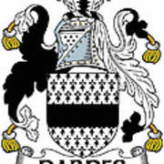 Dardes Coat Of Arms Irish Poster