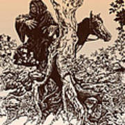 Dark Rider-tolkien Appreciation Poster