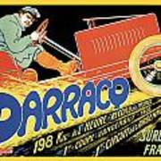 Darracq Suresnes France Poster