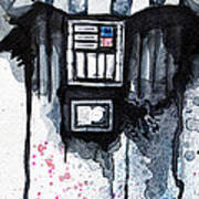 Darth Vader Poster by David Kraig