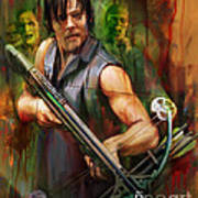 Daryl Dixon Walker Killer Poster