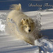 Dashing Through The Snow Poster