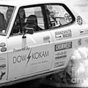 Datsun Smoking Tires Poster