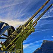 Dauntless Tail Gun Poster