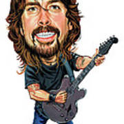 Dave Grohl Poster by Art