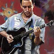 Dave Matthews Poster by Viola El
