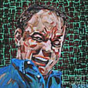 Dave Matthews Portrait Poster