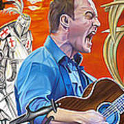 Dave Matthews The Last Stop Poster by Joshua Morton