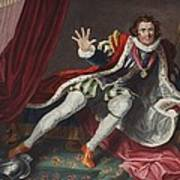 David As Richard IIi, Illustration Poster