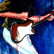David On Guitar Poster