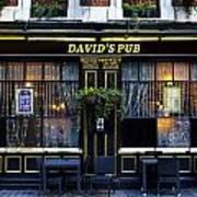 David's Pub Poster