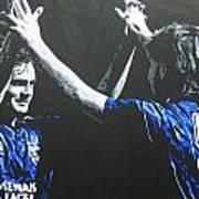 Davie Cooper - Ally Mccoist - Glasgow Rangers Fc Poster
