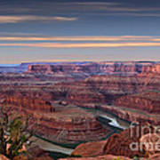 Dawn At Dead Horse Point Poster