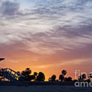 Dawn At Venice Beach Poster