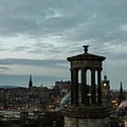 Dawn In Edinburgh Poster