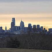 Dawn In Philadelphia Poster