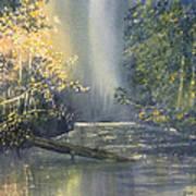 Dawn On The Derwent Poster