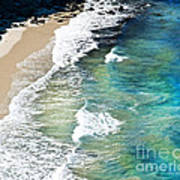Days That Last Forever Waves That Go On In Time Poster by Artist and Photographer Laura Wrede
