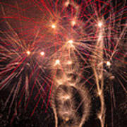 Dazzling Fireworks Poster