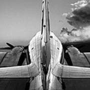 Dc-3 Rear View 1 Poster by Maxwell Amaro