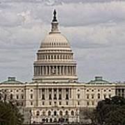 Dc Capitol Building Poster