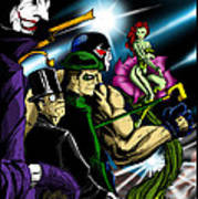 Dc Villains Poster