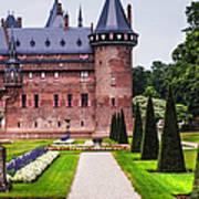 De Haar Castle 2. Utrecht. Netherlands Poster