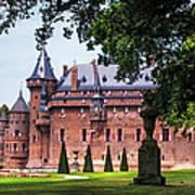 De Haar Castle 3. Utrecht. Netherlands Poster by Jenny Rainbow