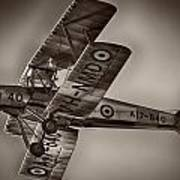 De Havilland Dh-82a Tiger Moth V5 Poster