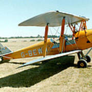 De-havilland Tiger Moth Poster