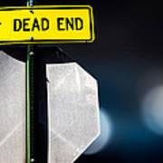 Dead End Poster by Bob Orsillo