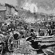 Deadwood South Dakota C. 1876 Poster