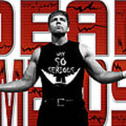 Dean Ambrose Why So Serious Poster