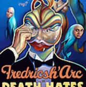Fredricsh Arc In Death Hates A Holiday Poster