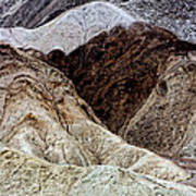 Death Valley Desert Rocks Poster