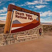 Death Valley Entry Poster