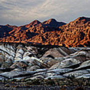 Death Valley Painted Rock Poster