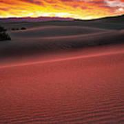 Death Valley Sunrise Poster