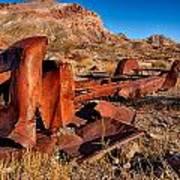 Death Valley Truck Poster