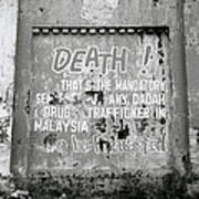 Death Warning Poster