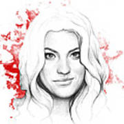Debra Morgan - Dexter Poster by Olga Shvartsur