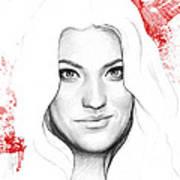 Debra Morgan Portrait - Dexter Poster